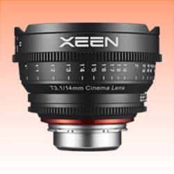 Image of New Samyang Xeen 14mm T3.1 Lens for Nikon AE