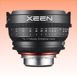 Image of New Samyang Xeen 14mm T3.1 Lens for Canon EF