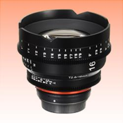 Image of New Samyang Xeen 16mm T2.6 Lens for Micro Four Thirds Four