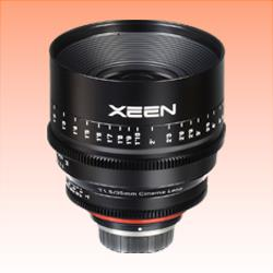 Image of New Samyang Xeen 35mm T1.5 Lens for Micro Four Thirds Four