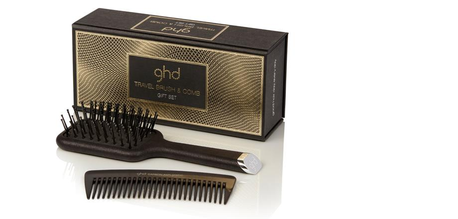 Image of ghd travel brush and comb set | ghd official website