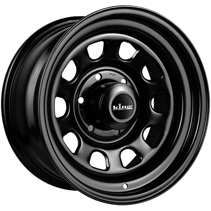 Image of King Wheels D-LOCKER BLACK Wheels