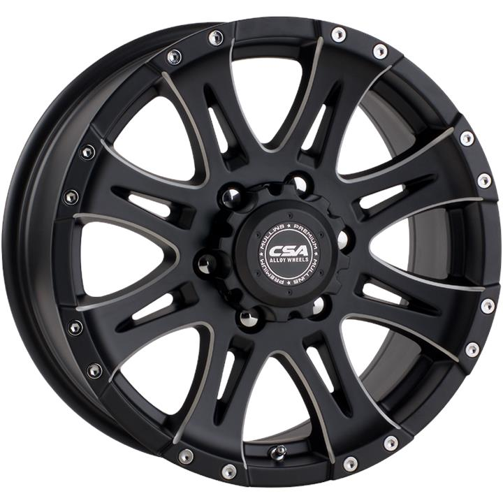Image of CSA RAPTOR LARGE CAP MILLED FACE Wheels