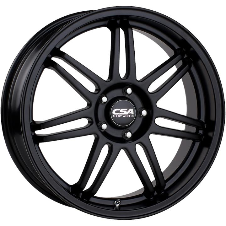 Image of CSA STRADA SATIN BLACK ALL OVER Wheels