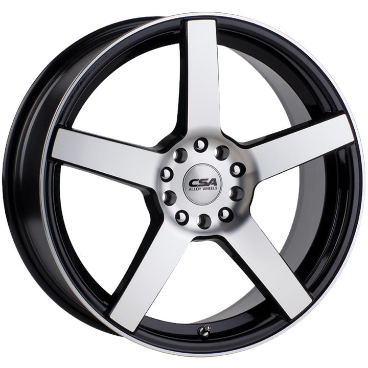 Image of CSA ESSEN GUNMETAL BLACK MACHINE FACE Wheels
