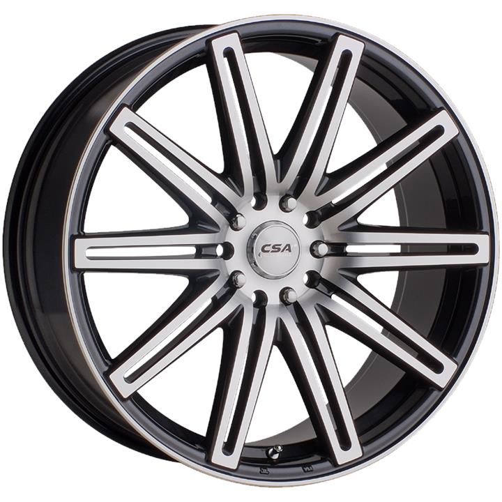 Image of CSA NITROUS BLACK M-FACE Wheels