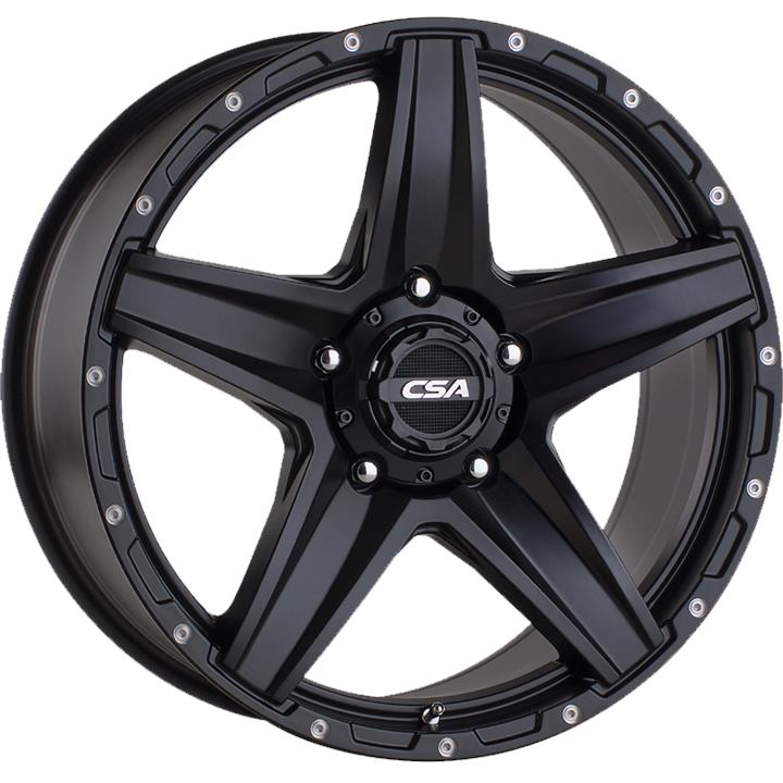 Image of CSA STEALTH LARGE CAP SATIN BLACK Wheels