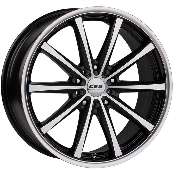 Image of CSA SAVANNA GUNMETAL BLACK MACHINE FACE Wheels