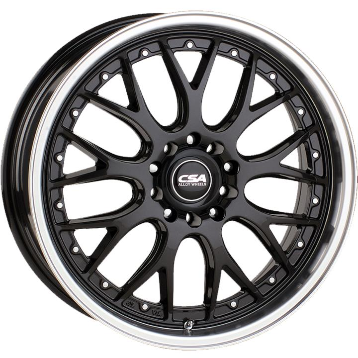 Image of CSA MAKO GUNMETAL BLACK MACHINE LIP Wheels