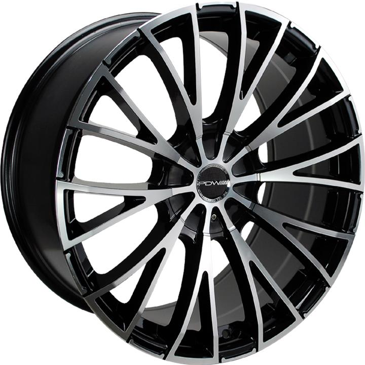 Image of PDW ASPIRE MACHINED FACE BLACK Wheels