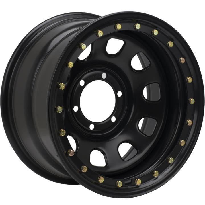 Image of FM WHEELS D SHAPE BLACK IMITATION BEADLOCK Wheels