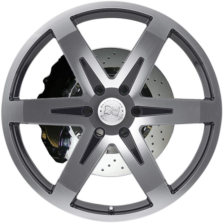 Image of Black Rhino PEAK GLOSS BLACK MACHINE FACE Wheels