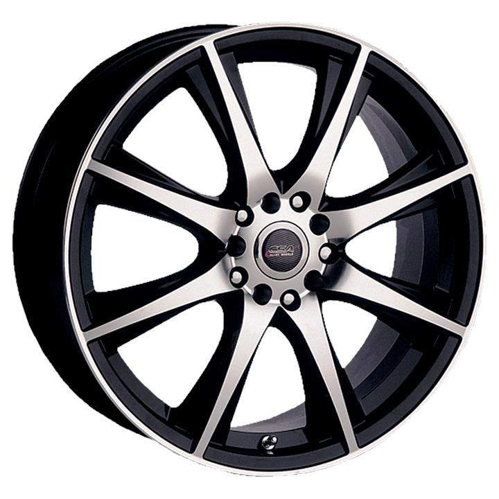 Image of CSA MOTORVATR BLACK MACHINED FACE Wheels