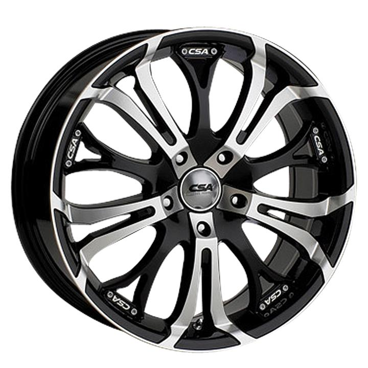 Image of CSA SHAKER GLOSS BLACK MACHINE FACE Wheels