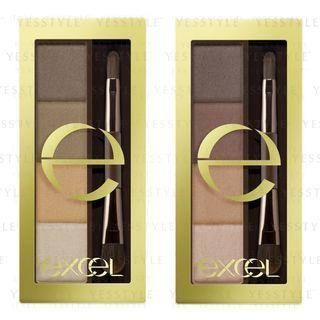 EXCEL - Styling Powder Eyebrow - 3 Types SE01 Natural Brown