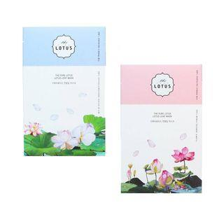 THE PURE LOTUS - Lotus Leaf Mask - 2 Types Wrinkle Treatment
