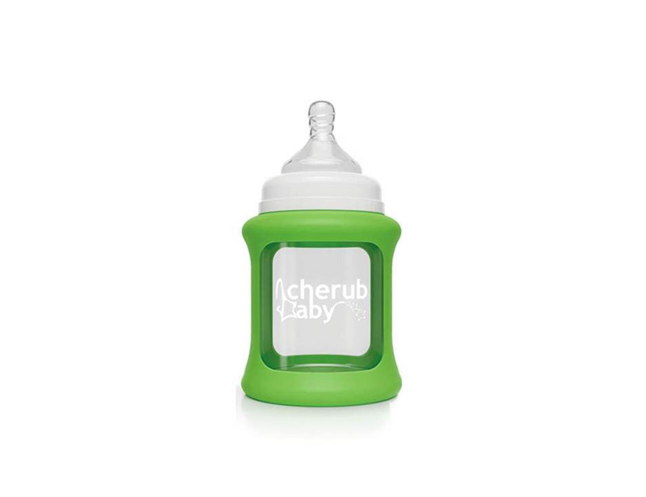 Image of Colour Change Glass Bottles Wide Neck 150ml Single Pack - Green