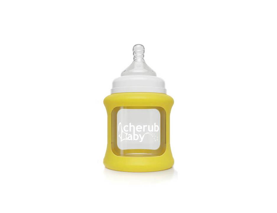Image of Colour Change Glass Bottles Wide Neck 150ml Single Pack - Yellow
