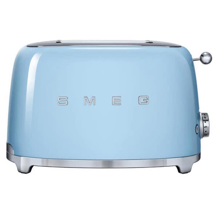 Image of Smeg 50's Retro Style Aesthetic 2 Slice ToasterPale Blue