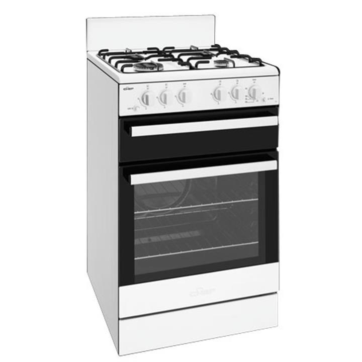 Image of Chef 54cm LPGas Freestanding Cooker