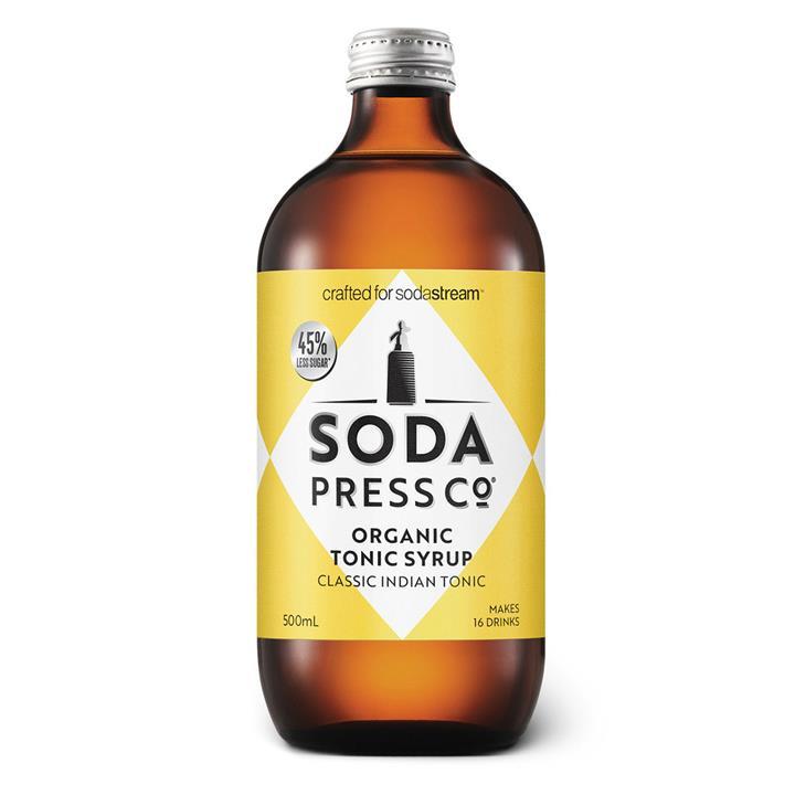 Image of Sodastream Classic Indian TonicOrganic Soda SyrupClassic Indian TonicOrganic Soda Syrup