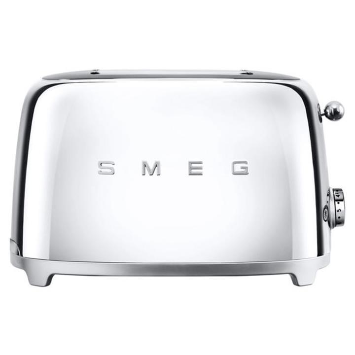 Image of Smeg 50's Retro Style Aesthetic 2 Slice ToasterChrome
