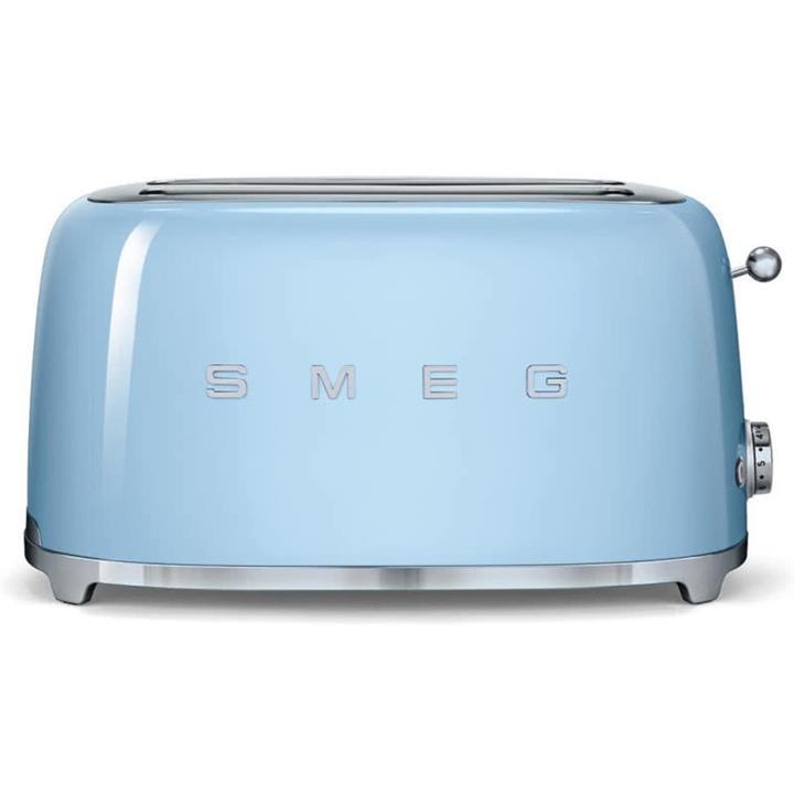 Image of Smeg 50's Retro Style Aesthetic 4 Slice ToasterPale Blue
