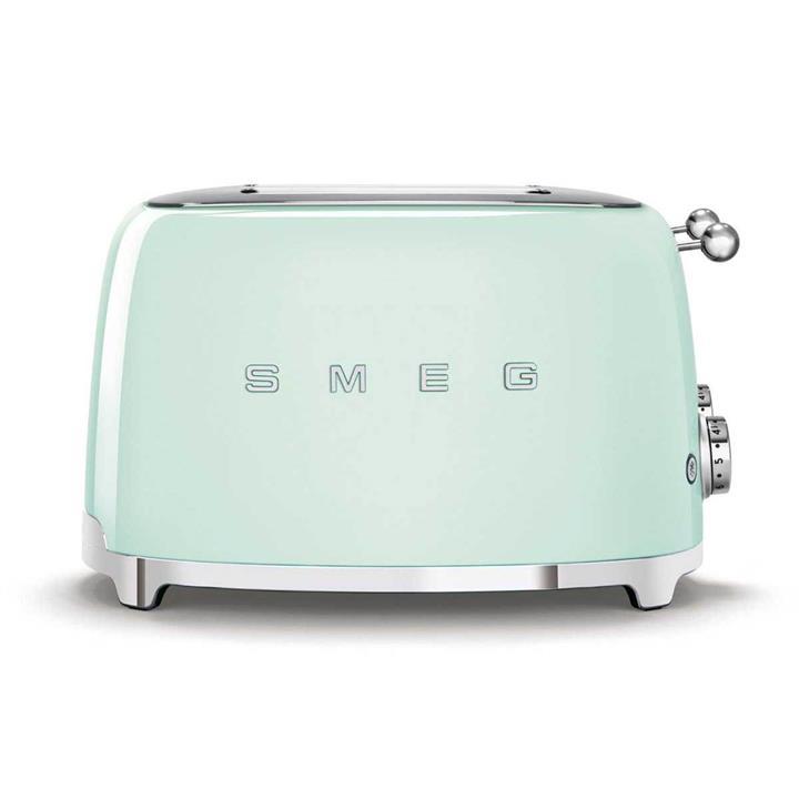 Image of Smeg 50's Style 4 Slice ToasterPastel Green