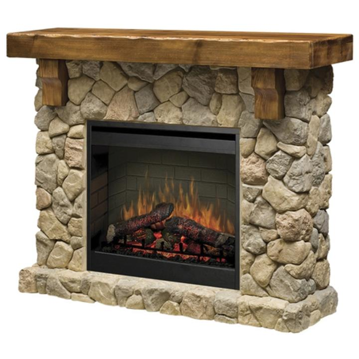 Image of Dimplex FieldstoneElectric Flame Heater