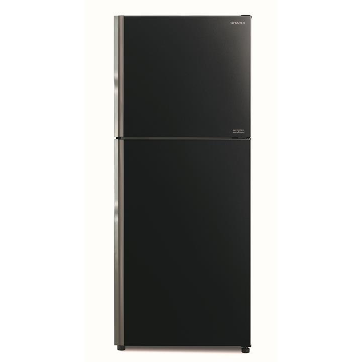 Image of Hitachi 375L Top Mount Inverter FridgeGlass Black