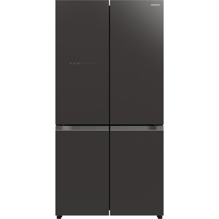 Image of Hitachi 638L French Door FridgeMauve Grey Glass
