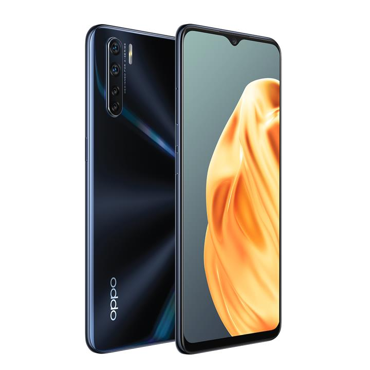 """Image of Oppo A91 Smartphone6.4"""" FHD+ AMOLED128GBLightening Black"""