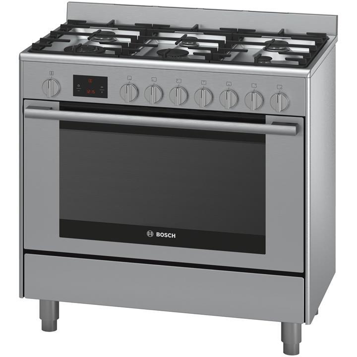 Image of Bosch Serie 6 90 cm Dual Fuel Range Freestanding Cooker