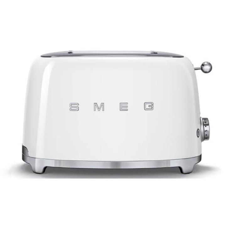 Image of Smeg 50's Retro Style Aesthetic 2 Slice ToasterWhite