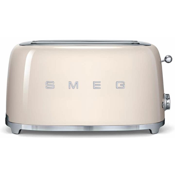 Image of Smeg 50's Retro Style Aesthetic 4 Slice ToasterCream