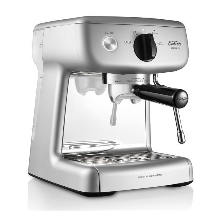 Image of Sunbeam Mini Barista Espresso Machine Silver
