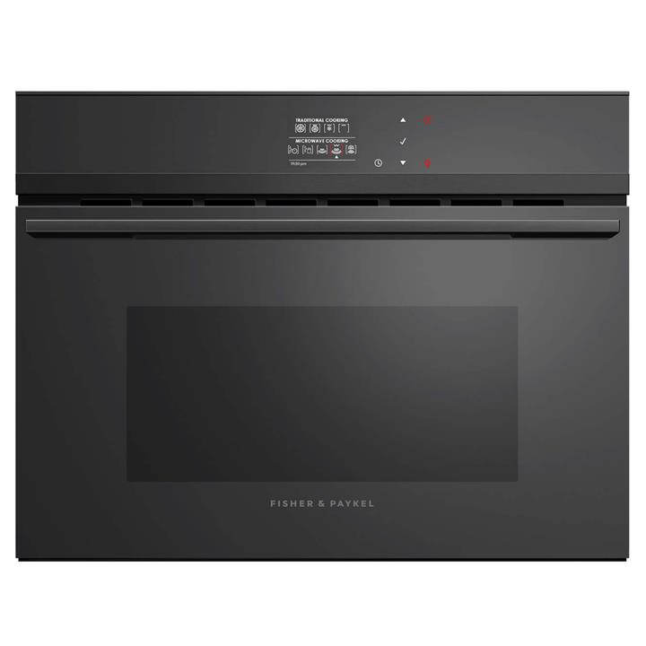 Image of Fisher & Paykel 60cm Built-in Combination Microwave OvenBlack