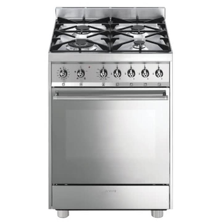 Image of Smeg 60cm Freestanding Gas/Gas Cooker