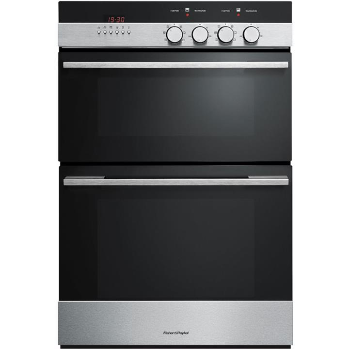 Image of Fisher & Paykel 60cm Double Built-in OvenBrushed Stainless Steel