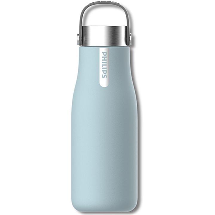 Image of Philips GoZero Smart UV Hydration BottleBaby Blue