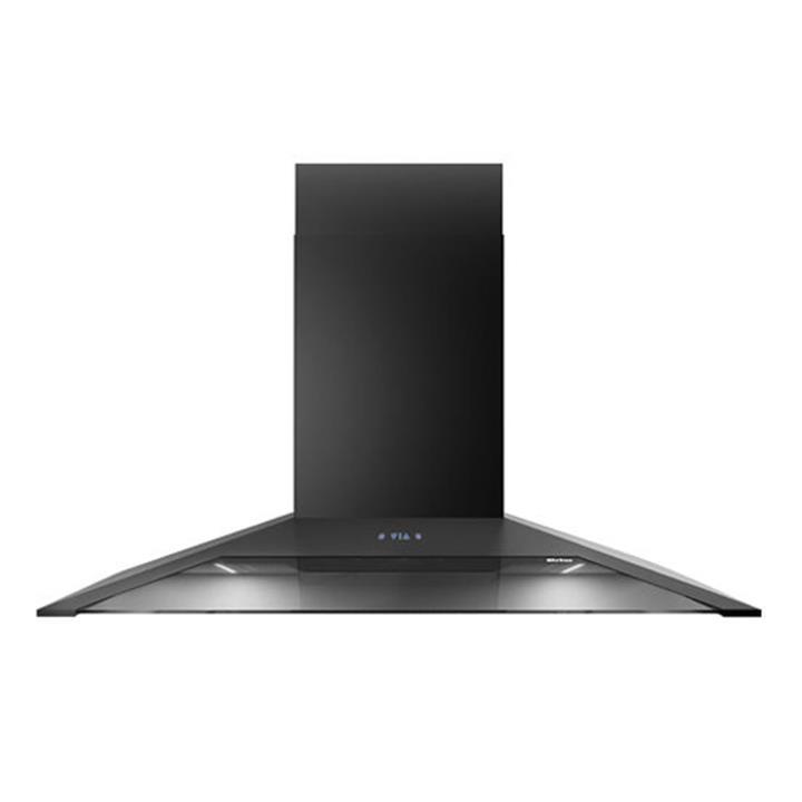 Image of Sirius 90cm Black Canopy Rangehood