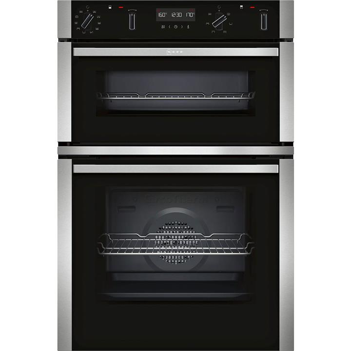 Image of Neff Built-in Double Oven Stainless Steel