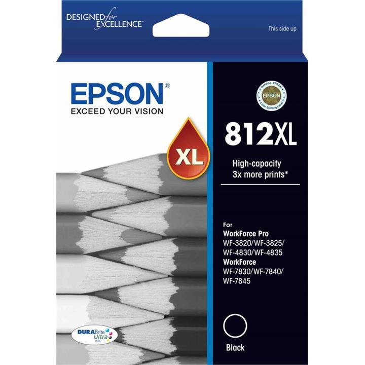 Image of Epson C13812XL Black Ink Cartridge