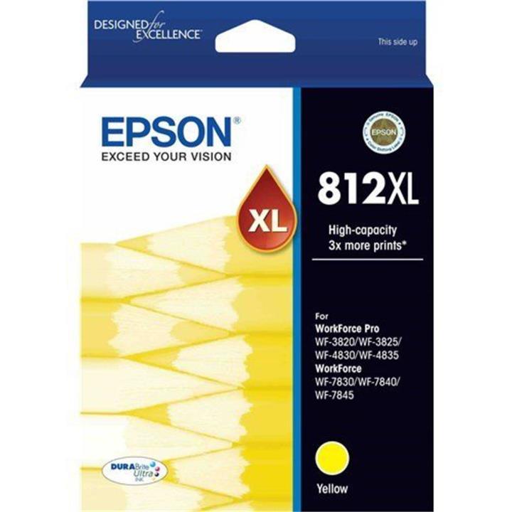 Image of Epson C13812XL Yellow Ink Cartridge