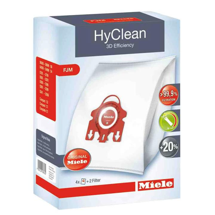 Image of Miele HYCLEAN FJM 3D DUSTBAGS