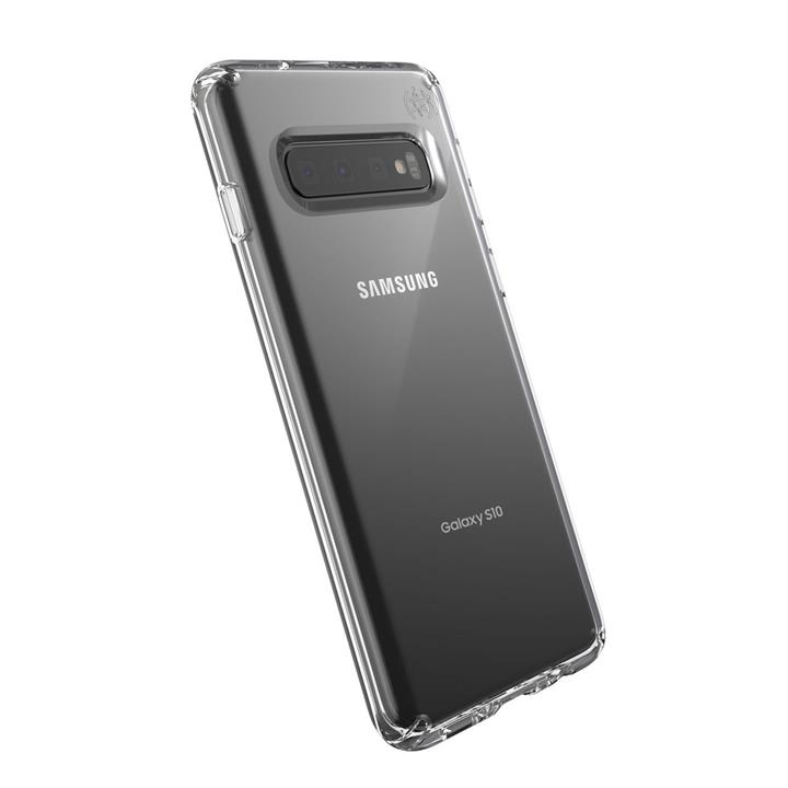 Image of Speck Presidio Stay Clear Galaxy S10 Case