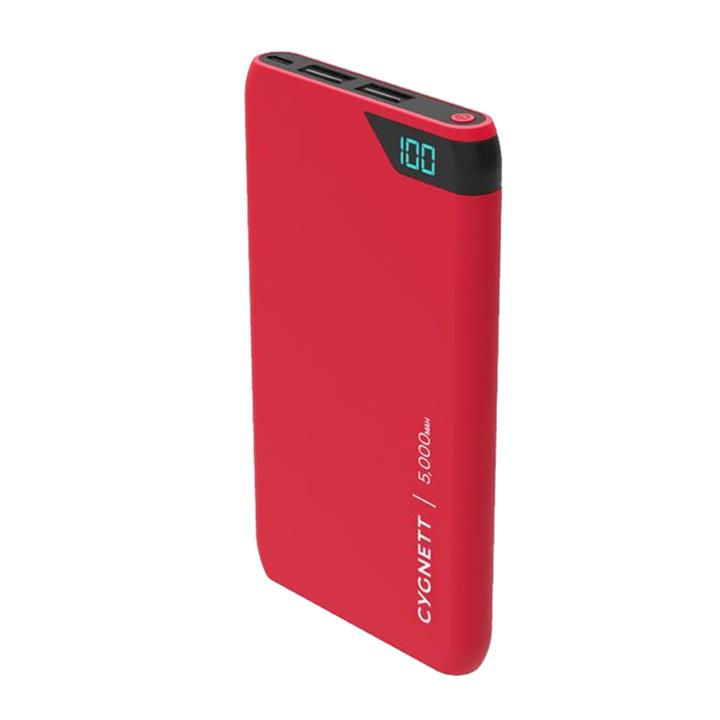 Image of Cygnett CHARGEUP BOOST 5000MAH RED