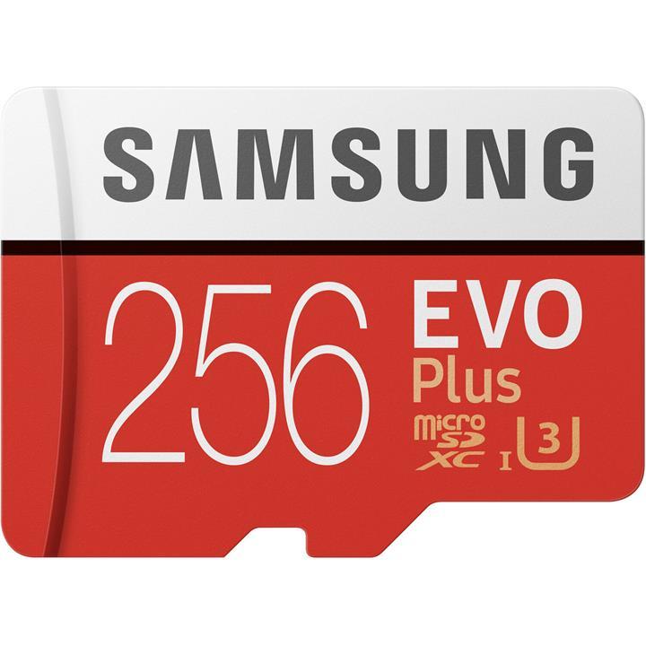 Image of Samsung 256GB EVO Plus microSD Card (2020)