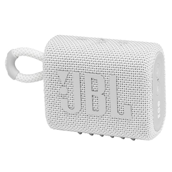 Image of JBL Go 3 Portable Waterproof SpeakerWhite
