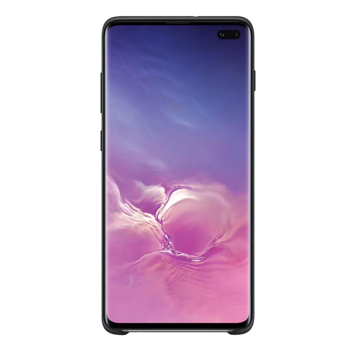 Image of Samsung Galaxy S10+ Silicone CoverBlack
